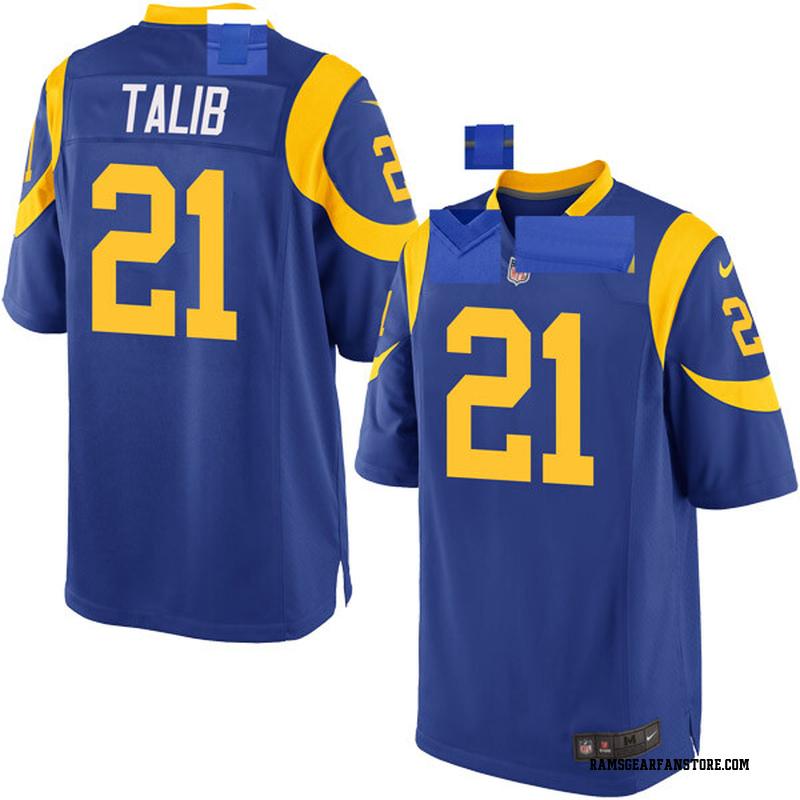 54e027b2 Youth Nike Los Angeles Rams Aqib Talib Royal Alternate Jersey - Game