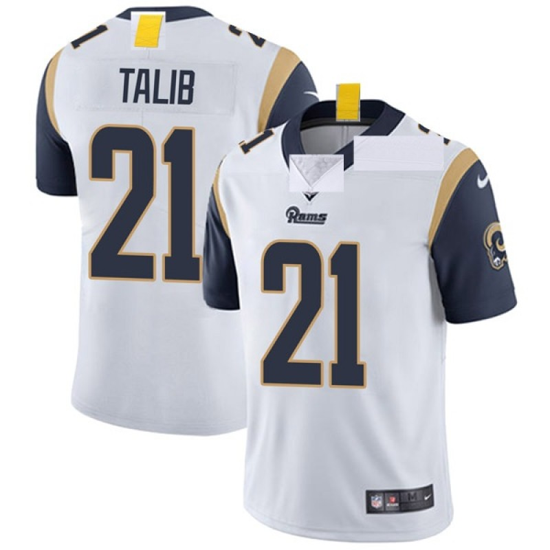 online retailer d0f70 dbb53 Youth Nike Los Angeles Rams Aqib Talib White Vapor Untouchable Jersey -  Limited