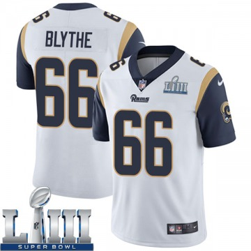 Youth Nike Los Angeles Rams Austin Blythe White Super Bowl LIII Bound Vapor Untouchable Jersey - Limited