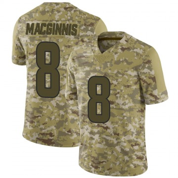 Youth Nike Los Angeles Rams Austin MacGinnis Camo 2018 Salute to Service Jersey - Limited