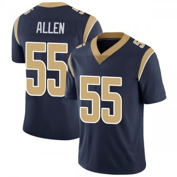 Youth Nike Los Angeles Rams Brian Allen Navy Team Color Vapor Untouchable Jersey - Limited
