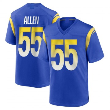 Youth Nike Los Angeles Rams Brian Allen Royal Alternate Jersey - Game