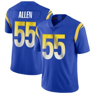 Youth Nike Los Angeles Rams Brian Allen Royal Alternate Vapor Untouchable Jersey - Limited