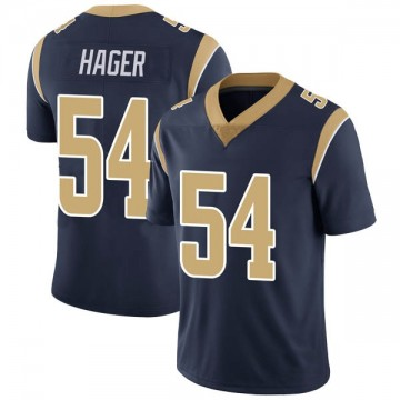 Youth Nike Los Angeles Rams Bryce Hager Navy Team Color Vapor Untouchable Jersey - Limited