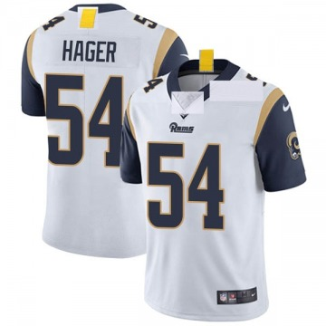 Youth Nike Los Angeles Rams Bryce Hager White Vapor Untouchable Jersey - Limited