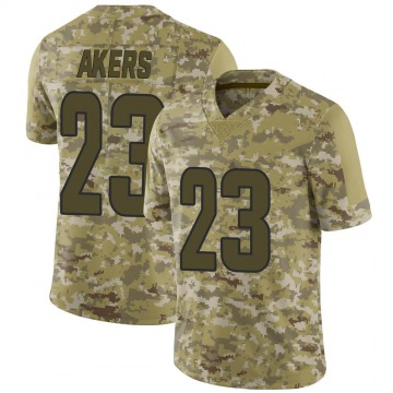 Youth Nike Los Angeles Rams Cam Akers Camo 2018 Salute to Service Jersey - Limited