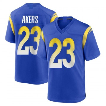 Youth Nike Los Angeles Rams Cam Akers Royal Alternate Jersey - Game