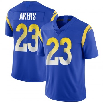 Youth Nike Los Angeles Rams Cam Akers Royal Alternate Vapor Untouchable Jersey - Limited