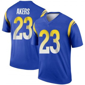 Youth Nike Los Angeles Rams Cam Akers Royal Jersey - Legend