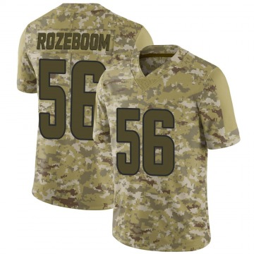 Youth Nike Los Angeles Rams Christian Rozeboom Camo 2018 Salute to Service Jersey - Limited