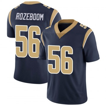 Youth Nike Los Angeles Rams Christian Rozeboom Navy Team Color Vapor Untouchable Jersey - Limited