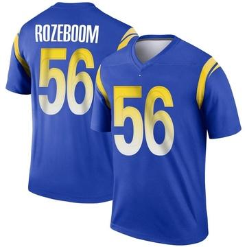 Youth Nike Los Angeles Rams Christian Rozeboom Royal Jersey - Legend