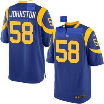 Youth Nike Los Angeles Rams Clay Johnston Royal Alternate Jersey - Game