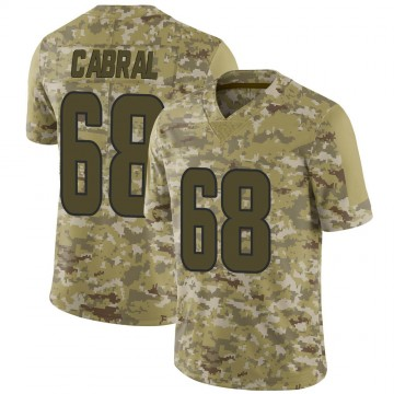 Youth Nike Los Angeles Rams Cohl Cabral Camo 2018 Salute to Service Jersey - Limited
