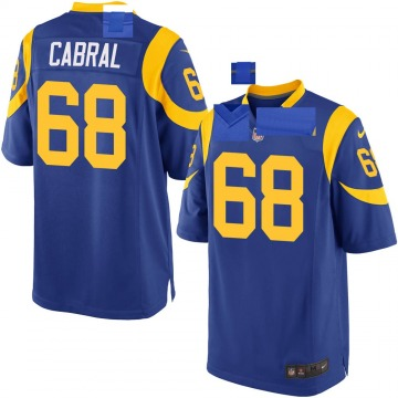 Youth Nike Los Angeles Rams Cohl Cabral Royal Alternate Jersey - Game