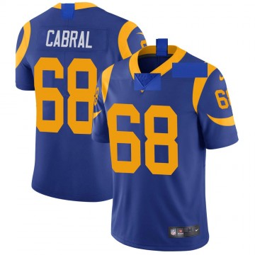 Youth Nike Los Angeles Rams Cohl Cabral Royal Alternate Vapor Untouchable Jersey - Limited