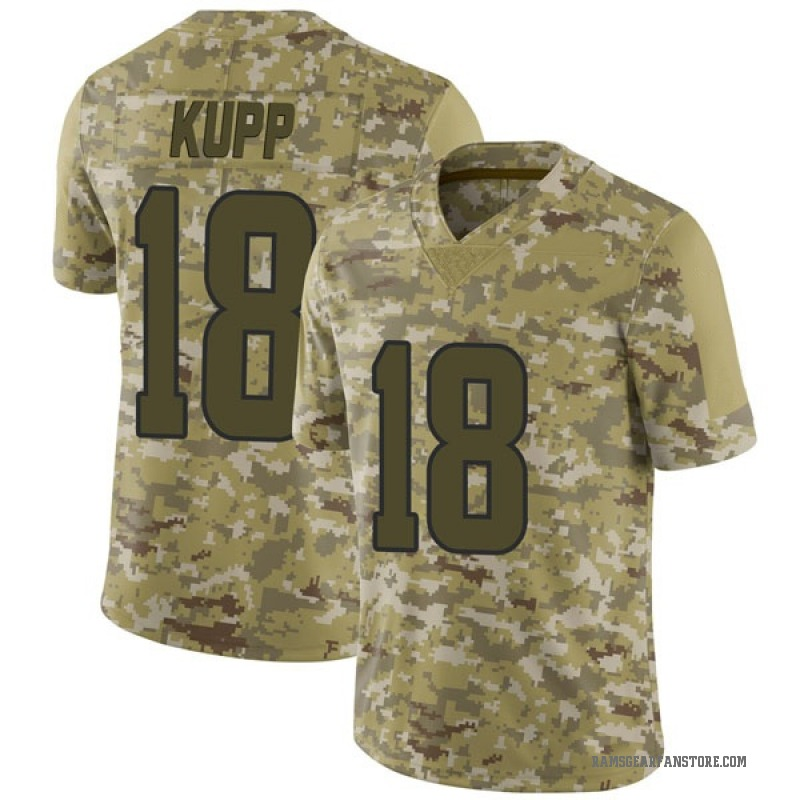 new style 44210 a6122 Youth Nike Los Angeles Rams Cooper Kupp Camo 2018 Salute to Service Jersey  - Limited