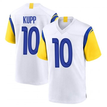 Youth Nike Los Angeles Rams Cooper Kupp White Jersey - Game