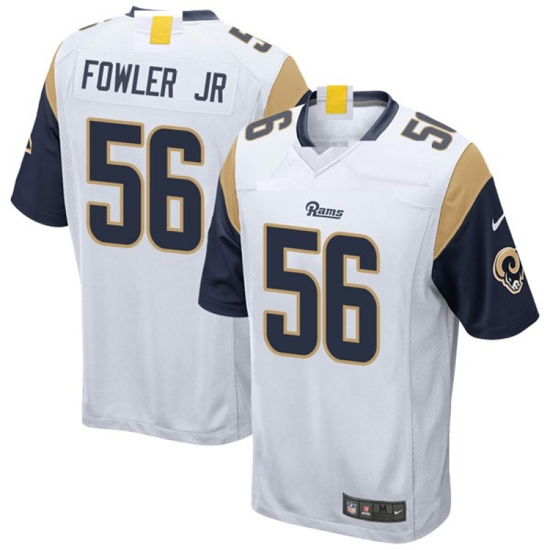 the best attitude a3d77 eff22 Youth Nike Los Angeles Rams Dante Fowler Jr. White Jersey - Game