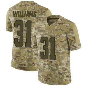 Youth Nike Los Angeles Rams Darious Williams Camo 2018 Salute to Service Jersey - Limited