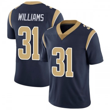 Youth Nike Los Angeles Rams Darious Williams Navy Team Color Vapor Untouchable Jersey - Limited