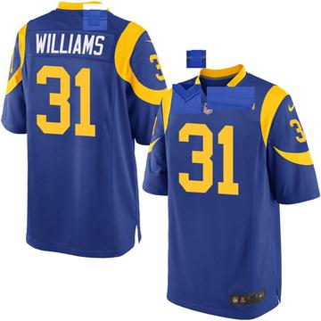 Youth Nike Los Angeles Rams Darious Williams Royal Alternate Jersey - Game