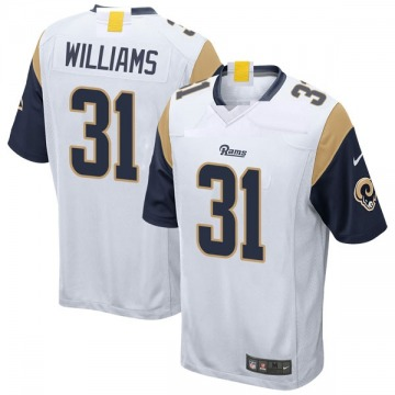Youth Nike Los Angeles Rams Darious Williams White Jersey - Game