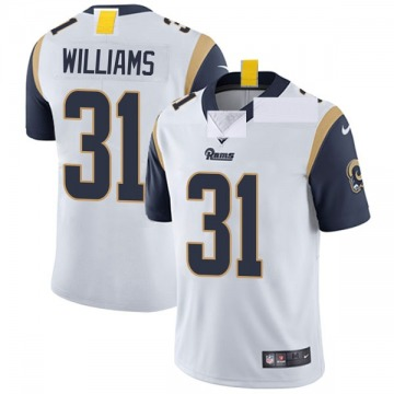 Youth Nike Los Angeles Rams Darious Williams White Vapor Untouchable Jersey - Limited