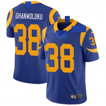 Youth Nike Los Angeles Rams Dayan Ghanwoloku Royal Alternate Vapor Untouchable Jersey - Limited