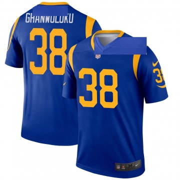 Youth Nike Los Angeles Rams Dayan Ghanwoloku Royal Jersey - Legend