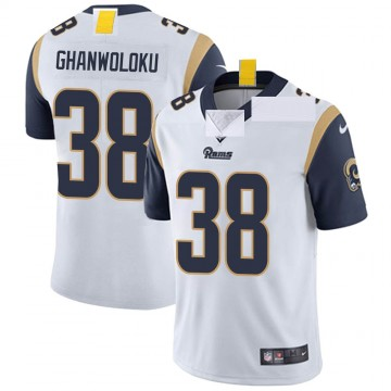 Youth Nike Los Angeles Rams Dayan Ghanwoloku White Vapor Untouchable Jersey - Limited