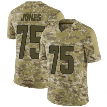Youth Nike Los Angeles Rams Deacon Jones Camo 2018 Salute to Service Jersey - Limited