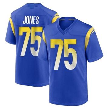 Youth Nike Los Angeles Rams Deacon Jones Royal Alternate Jersey - Game