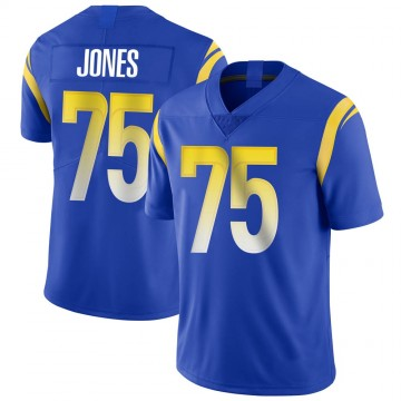 Youth Nike Los Angeles Rams Deacon Jones Royal Alternate Vapor Untouchable Jersey - Limited