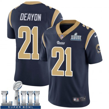 Youth Nike Los Angeles Rams Donte Deayon Navy Team Color Super Bowl LIII Bound Vapor Untouchable Jersey - Limited