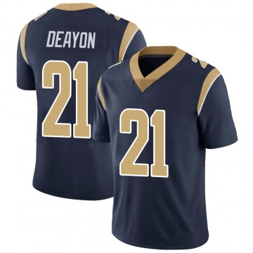 Youth Nike Los Angeles Rams Donte Deayon Navy Team Color Vapor Untouchable Jersey - Limited