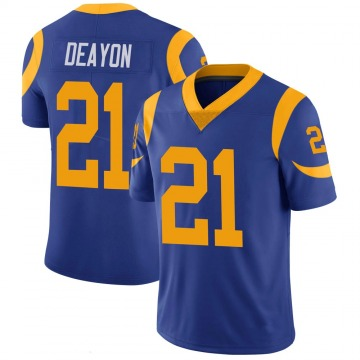 Youth Nike Los Angeles Rams Donte Deayon Royal 100th Vapor Jersey - Limited