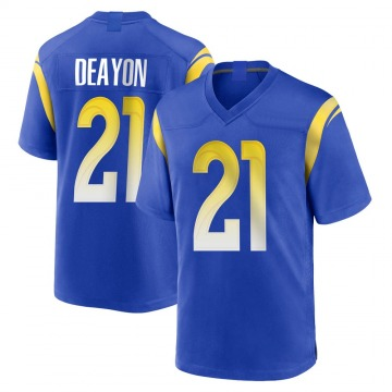 Youth Nike Los Angeles Rams Donte Deayon Royal Alternate Jersey - Game