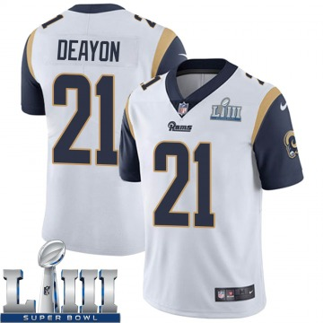 Youth Nike Los Angeles Rams Donte Deayon White Super Bowl LIII Bound Vapor Untouchable Jersey - Limited