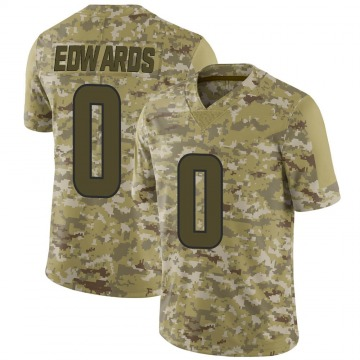 Youth Nike Los Angeles Rams Earnest Edwards Camo 2018 Salute to Service Jersey - Limited