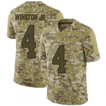 Youth Nike Los Angeles Rams Easop Winston Jr. Camo 2018 Salute to Service Jersey - Limited