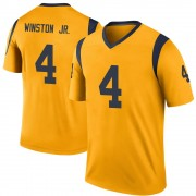 Youth Nike Los Angeles Rams Easop Winston Jr. Gold Color Rush Jersey - Legend