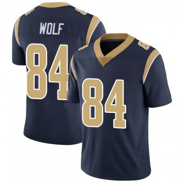 Youth Nike Los Angeles Rams Ethan Wolf Navy Team Color Vapor Untouchable Jersey - Limited