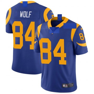 Youth Nike Los Angeles Rams Ethan Wolf Royal Alternate Vapor Untouchable Jersey - Limited