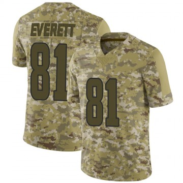 Youth Nike Los Angeles Rams Gerald Everett Camo 2018 Salute to Service Jersey - Limited