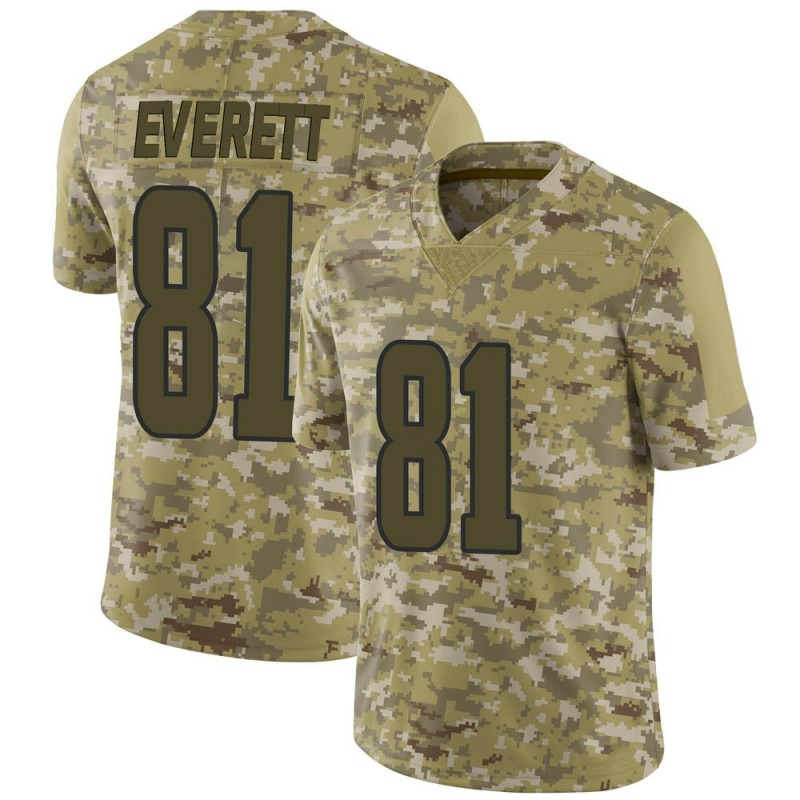 newest 31adb 58518 Youth Nike Los Angeles Rams Gerald Everett Camo 2018 Salute to Service  Jersey - Limited