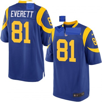 Youth Nike Los Angeles Rams Gerald Everett Royal Alternate Jersey - Game