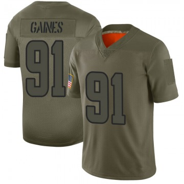 Youth Nike Los Angeles Rams Greg Gaines Camo 2019 Salute to Service Jersey - Limited