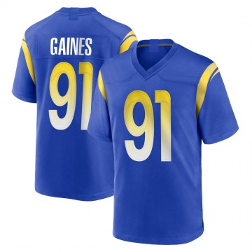 Youth Nike Los Angeles Rams Greg Gaines Royal Alternate Jersey - Game