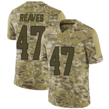 Youth Nike Los Angeles Rams Greg Reaves Camo 2018 Salute to Service Jersey - Limited